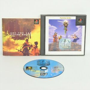 ARC-THE-LAD-1-the-Best-PS1-Playstation-ccc-For-JP-System-p1