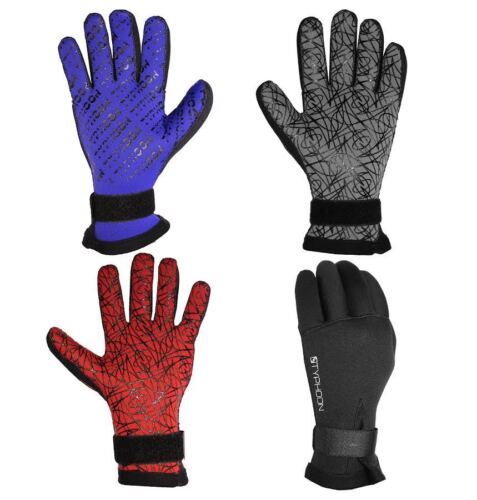 TYPHOON  3MM / 5MM NEOPRENE DIVE DIVING WETSUIT WATERSPORTS GLOVES