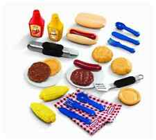 Little Tikes Backyard Barbeque Grillin' Picnic Kitchen Pretend Play Food Goodies