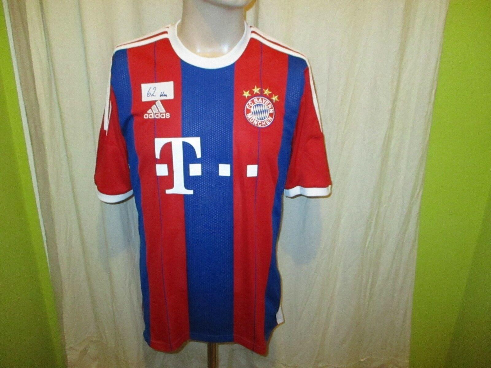 FC Bayern München Original Adidas Heim Trikot 2014 2014 2014 15  -T---  Gr.M Neu dd3f4b