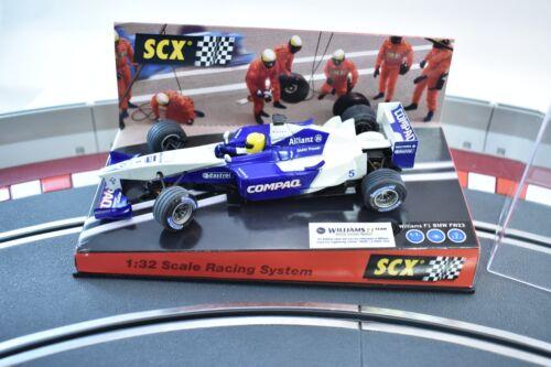 SCX ANALOG 1999 60950 WILLIAMS F-1 BMW FW23 N #5 2001  1//32 SLOT CAR