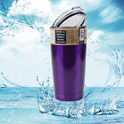 20 oz Yeti Rambler Tumbler Stainless Steel Powder Coated Cup Purple New