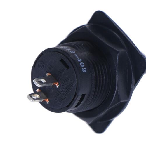 R13-402A Schwarz 2-poliger EIN-EIN-Kippschalter mit 2-poligem   daMVXJ