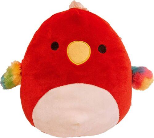 "Tito,Priscilla,Paco Squishmallow Kellytoy Birds Collection Plush Toy 8/"""