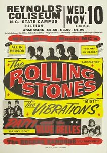 RR13-Vintage-Rolling-Stones-Rock-amp-Roll-Concert-Music-Advertisement-Poster-A3-A4
