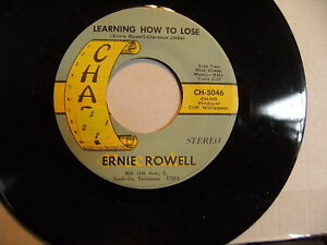 ERNIE-ROWELL-Hello-Josephine-LEARNING-HOW-TO-LOSE-unplayed-Chart-45