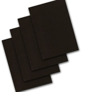 A4 A3 A2 Black Craft Card Art Scrapbook Paper Activity Sheets 160gsm