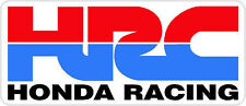 "#228 (2) 4.5"" HONDA Racing HRC superbike motorcycle decal sticker vinyl CBR CBX"