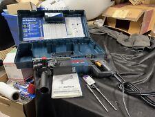 Bosch Bulldog 1 Rotary Hammer Drill 11224vsr Corded New With Case 2 Bits
