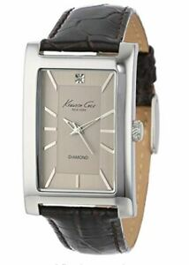Kenneth Cole New York Men's KC1984 Rock Out Silver Dial Diamond Dial New