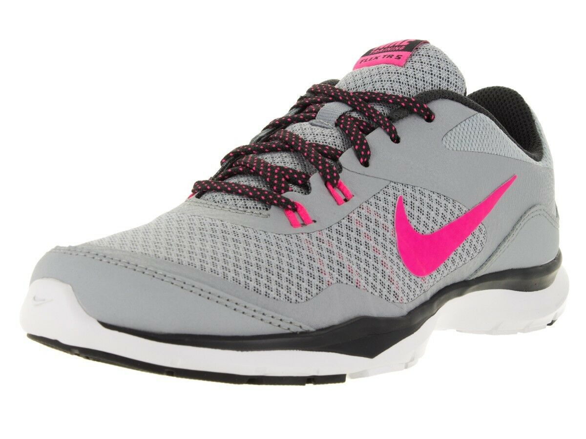 detailed look 4f836 d30af where to buy nike femmes nike flex trainer 5 chaussures wolf gris hyper  rose 724858 017