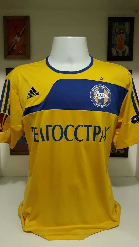 Football shirt bate borisov belarus match worn uefa europa league
