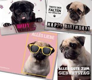 Geburtstagskarten von Möpsle - Happy Birthday