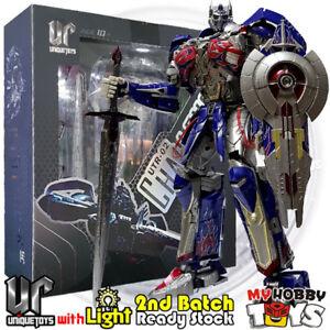 Unique-Toys-Transformers-UT-R-02-Challenger-Movie-AOE-TLK-Optimus-Prime