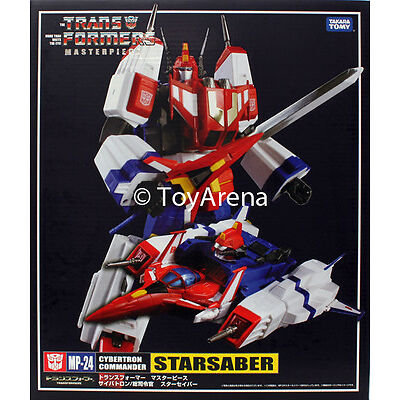 Transformers Masterpiece MP-24 Star Saber Action Figure Takara IN STOCK USA