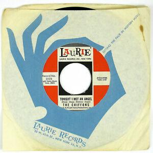 CHIFFONS-Tonight-I-Met-An-Angel-Easy-To-Love-7IN-1964-DOO-WOP-VG