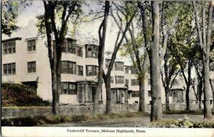 1920-039-S-MELROSE-HIGHLANDS-MASS-UNDERCLIFF-TERRACE-POSTCARD-KK1