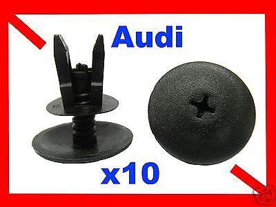 For Honda 10 bumper fender fascia trim panel push type fastener retainer clips
