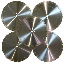 5pk 14 16mm Concrete Brick Block Paver Stone Marble Tile Diamond Saw Blade Best