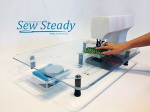 bernina sewing machine sew steady large deluxe extension table ebay rh ebay com sewing machine extension tables universal sewing machine extension table brother