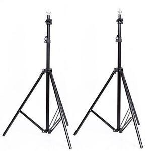 3-Lever-Pliable-Alliage-Aluminium-Simple-Photographie-Fond-Stand-Support-Noir