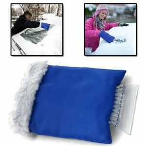 INSULATED-THERMAL-CAR-VAN-WINDSCREEN-ICE-SNOW-FROST-SCRAPER-MITT-WINTER-OFFER