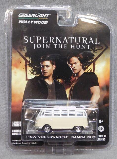 Hollywood Series 13 Supernatural Greenlight 1967 Volkswagen Samba Bus
