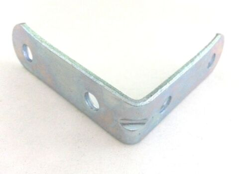 "100pcs Corner Brace L bracket Joint Right Angle 3 1//2/"" X 3 1//2/"" zinc plated"