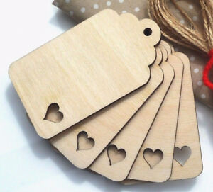 Wooden-Luggage-Tags-Label-Tags-Jar-Labels-with-Heart-Cutout-Curved-Top-Gift-Tags