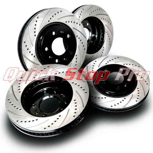 Curve Slot FOR047S Mustang GT 5.0L V8 2011-2014 Performance Brake Rotors Drill
