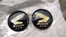 Honda C71 C72 CA72 CB72 CB250 CD250 CL72 CS72 L/R Fuel Tank Badges Emblem NEW