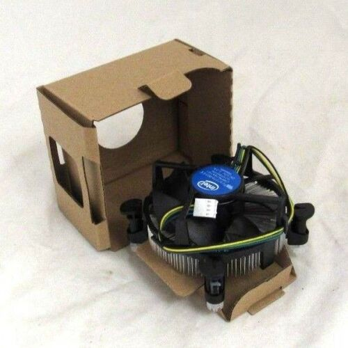 Genuine Intel i3 i5 i7 Heatsink and Fan Only LGA1150 LGA1151 LGA1155 LGA1156 W