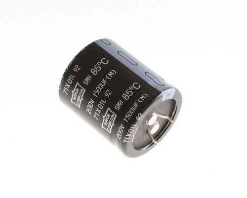 6x 18000uF 35V Snap In Mount Electrolytic Capacitor 18000mfd 35VDC 85C 35 Volts