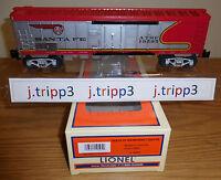 Lionel 19595 Santa Fe Sf Warbonnet Steel-sided Reefer Car Toy Train O Gauge Atsf