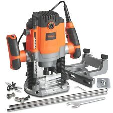 """VonHaus 1600W Router with 1/2"""" and 1/4"""" Collet"""