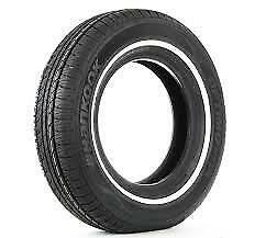 4 NEW 235//75-15 HANKOOK OPTIMO H724 WHITE WALL 75R R15 TIRES