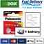 thumbnail 1 - AG10 1.5V Panasonic Lithium Coin Button Cell Battery 189, LR1130, LR54, SR1130W