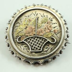 Sweetheart-Brooch-Antique-Silver-Yellow-and-Rose-Gold-Circa-1880-90s