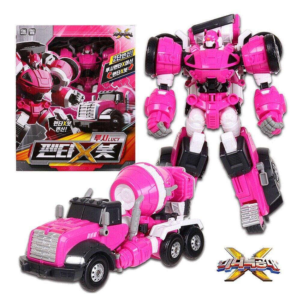Miniforce X Penta X Bot Lucy Lucybot Pentatron X Transformer Robot Car Toy +GIFT