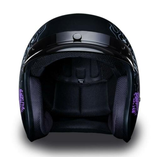 Daytona CRUISER W// HEAVEN SENT DOT FMVSS 218 Helmet Motorcycle Helmet DC6-HS