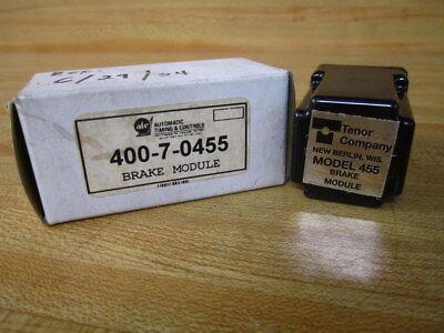 Tenor  455 400-7-0455 Brake Module new