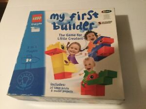 Details about LEGO MY FIRST BUILDER THE GAME FOR LITTLE CREATORS — AGE 3  PLUS — FREE P &P