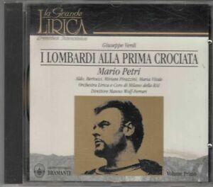 I LOMBARDI ALLA PRIMA CROCIATA. Vol.1 Giuseppe Verdi. Mario Petri CD Audio