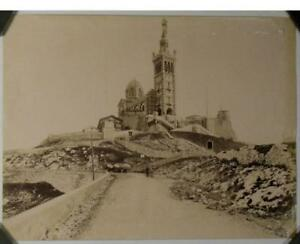 Frugal Photographie, Notre Dame De La Garde, Marseillle, 1880. Construction Robuste