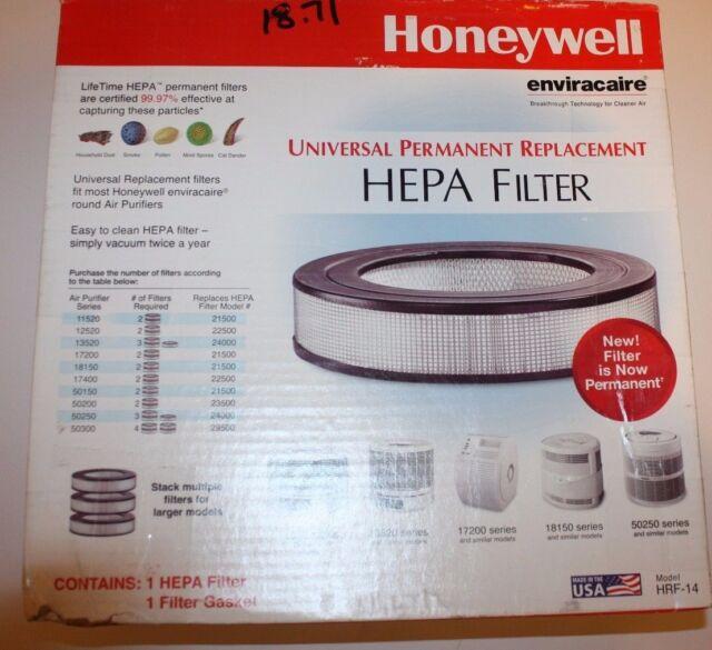 Honeywell HRF-14 Universal Permanent Replacement HEPA Filter - BRAND NEW