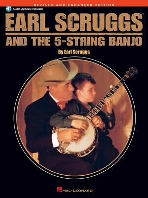 Earl Scruggs and the 5-String Banjo Sheet Music Book and Audio 000695765