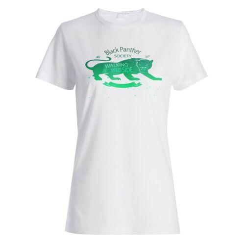 Black Panther Society  Ladies T-shirt//Tank Top z404f