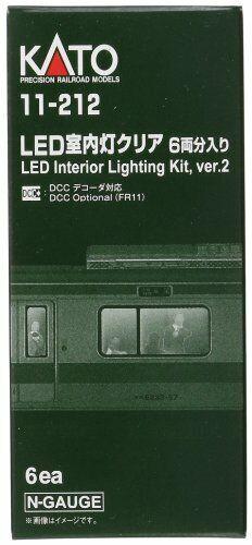 N Scale LED Interior Lighting Kit For 6 cars 11-212 For Model Trains KATO New