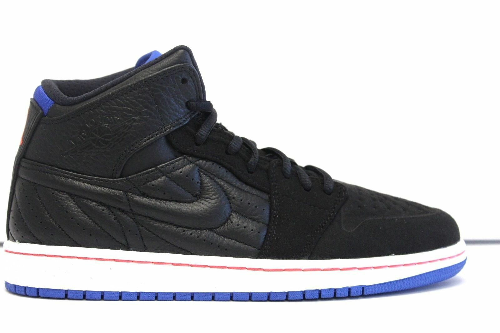 New Nike Air Jordan 1 Retro 99 Basketball Shoe noir/Sprt/blanc  654140-007