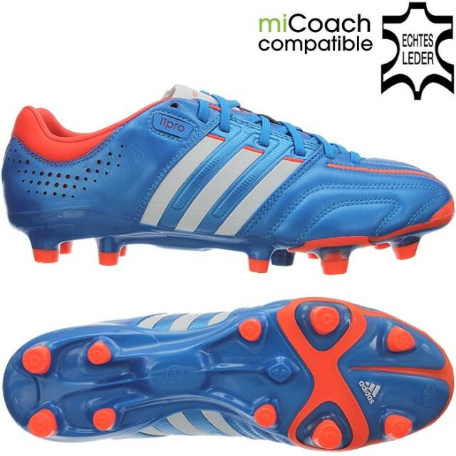 online retailer fb61c 9ba39 Adidas Adipure 11Pro TRX FG Profi-soccercleats for men blue white orange NEW